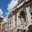 Trevi fountain by Nancy Huenergardt