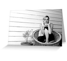 She's not there Greeting Card