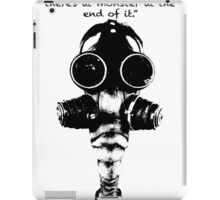 True Detective Gas Mask iPad Case/Skin