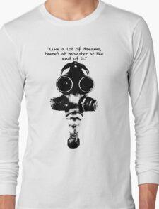 True Detective Gas Mask Long Sleeve T-Shirt