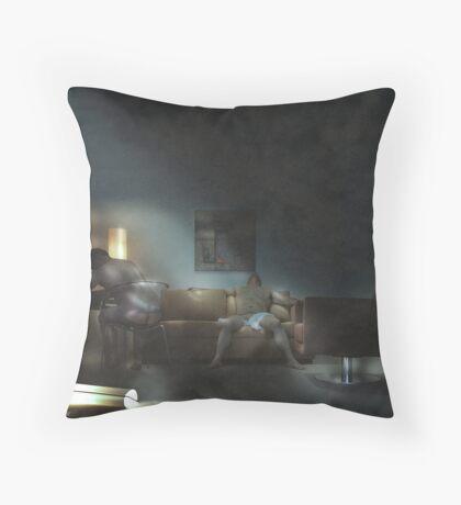 Room 205 Throw Pillow