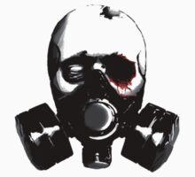 Gas Masked Zombie. by Batzyman