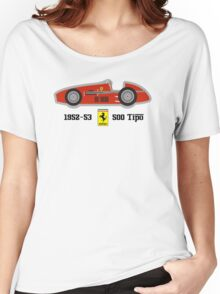 1952-53 Ferrari 500 Tipo, Double F1 championship winning car Women's Relaxed Fit T-Shirt