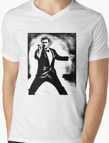 0047 Mens V-Neck T-Shirt
