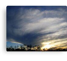 Swirls in the Sky Canvas Print
