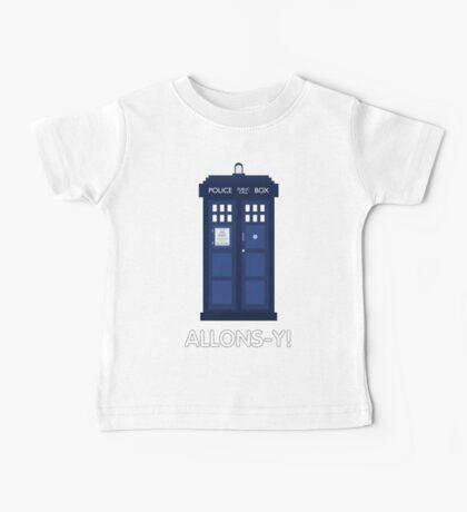 Doctor Who Police Call Box Baby Tee