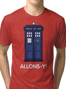 Doctor Who Police Call Box Tri-blend T-Shirt
