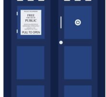 Doctor Who Police Call Box Sticker