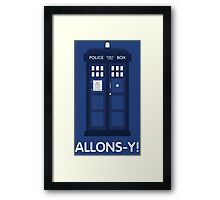 Doctor Who Police Call Box Framed Print