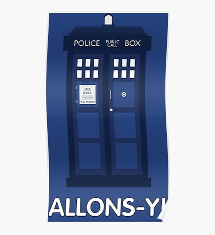 Doctor Who Police Call Box Poster