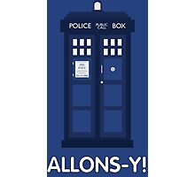 Doctor Who Police Call Box Photographic Print