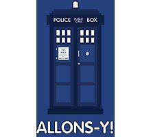 Doctor Who Police Call Box Photographic Print