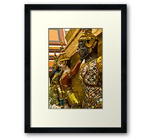 Guards at Grand Palace Framed Print