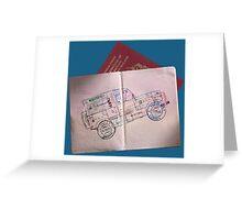 Land Rover Defender - Adventurer's Logo Greeting Card