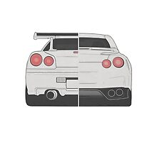 Evolution of Nissan Skyline by Revoltec17