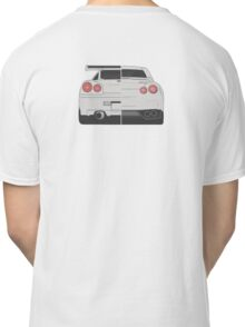 Evolution of Nissan Skyline Classic T-Shirt