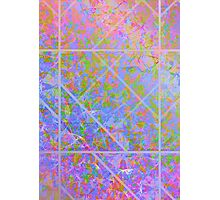Colorful Marble Texture Photographic Print