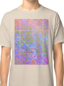 Colorful Marble Texture Classic T-Shirt