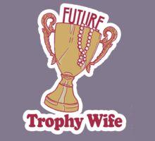 FUTURE TROPHY WIFE Kids Tee