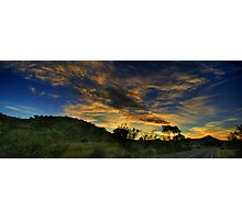 Tidbinbilla Sunset Photographic Print