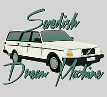 Volvo The Swedish Dream Machine by JakeLovesPhoto