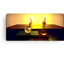 Oil bulbs Canvas Print