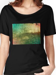 Moire Shrubbery (Inverted) Women's Relaxed Fit T-Shirt