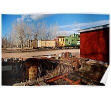 Train Restoration Site Poster