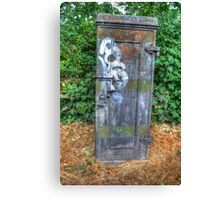 Telephone Junction Box Canvas Print