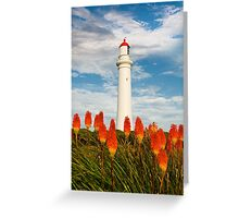Split Point Pokers,Aireys Inlet. Greeting Card