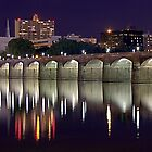 Harrisburg Bridge at Night by Russell Fry