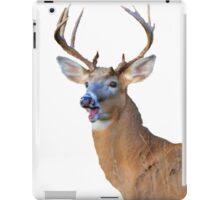 silly deer iPad Case/Skin