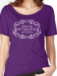 House Skywalker (white text) Women's Relaxed Fit T-Shirt