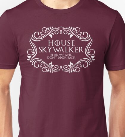 House Skywalker (white text) Unisex T-Shirt