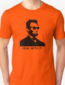 Cool Abe Lincoln - Deal With It (Clothing) Unisex T-Shirt