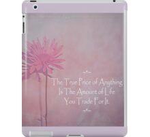 True Price iPad Case/Skin