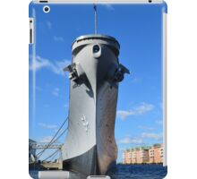 The Bow of the USS Wisconsin iPad Case/Skin