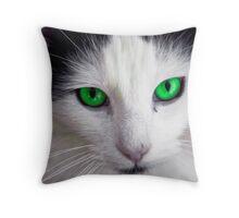 Moggy Throw Pillow