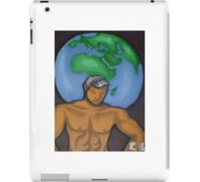 The Weight Of The World On One Man's Shoulders iPad Case/Skin