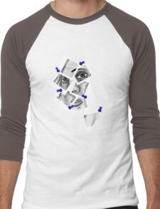 Photographed Men's Baseball ¾ T-Shirt