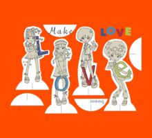 Make Love! Kids Clothes
