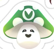 Vinesauce mushrooms Sticker
