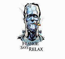Frankensteins Monster says Calm Down. Unisex T-Shirt