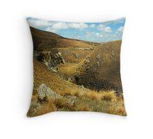 Dansey's Pass, NZ Throw Pillow