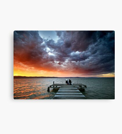 Best Seat in the World Canvas Print
