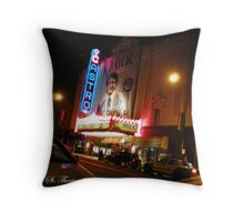 Castro Theater Throw Pillow