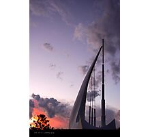 The Singing Ship 1  Photographic Print