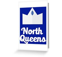 North Queens Drill Team Greeting Card