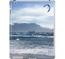 Kite Surfing in Cape Town, South Africa iPad Case/Skin