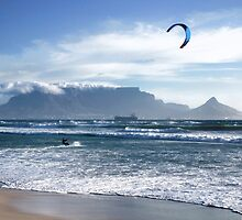 Kite Surfing in Cape Town, South Africa by SeeOneSoul